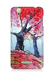 Amez designer printed 3d premium high quality back case cover for YU Yureka (Drawn Autumn)
