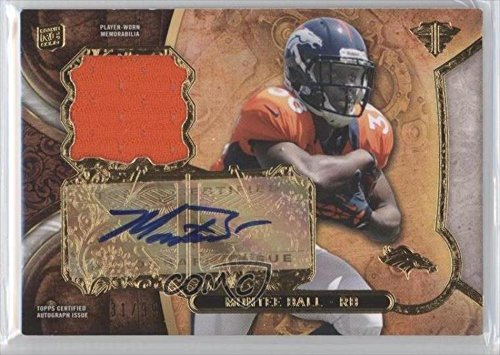 Montee Ball #31/99 Denver Broncos (Football Card) 2013 Topps Triple Threads Rookie Relics Autographs #Ttrar-Mb