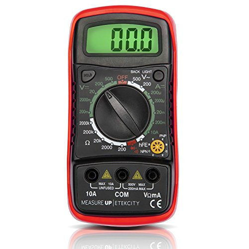 Etekcity-MU600-Digital-Multimeter-DMM-Multi-Tester-with-hFE-Measurement-Certified-Refurbished