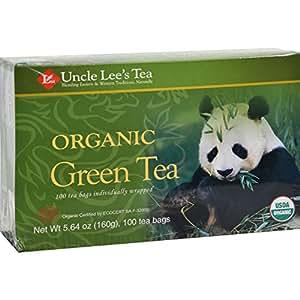 Amazon.com: Uncle Lee's Organic Green Tea -- 100 Tea Bags ...