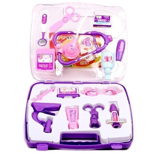 YOSOO(TM) Rollplay Games Pretended Doctor's Nurse Medical Carry Case Kit Roll Play Set Kids Toy Gift by Yosoo(TM)
