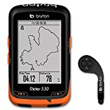 Bryton Rider 530 GPS Cycling Computer (2.6 display, 530E - Base Model + F-Mount) by Bryton Bryton