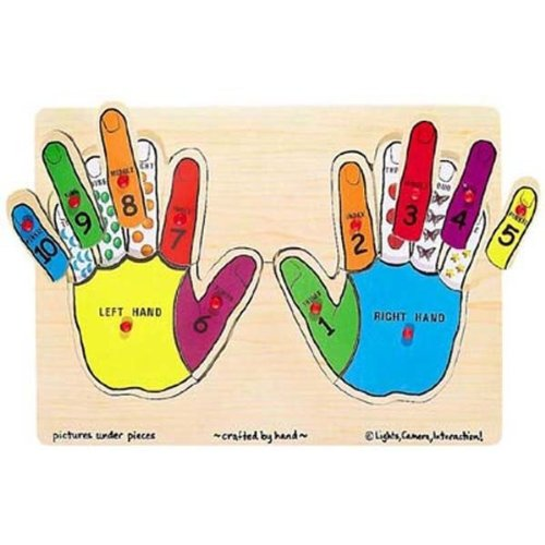 Melissa & Doug Hands Counting Peg front-474700