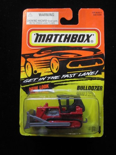 Bulldozer Matchbox Super Fast Series #64 - 1