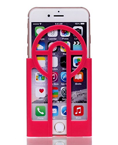 iphone 7 Pokemon Go Aimer Aim Assist Plate 3D Printed Guide Sight with a Cool Retro Cross For iPhone 6 iPhone 7 and iPhone 6s 4.7inch (Rose) (Pokemon Cool compare prices)