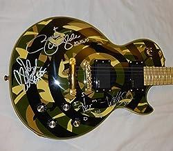 Signed Black Label Society Zakk Wylde Epiphone Bullseye Guitar Jsa Loa # Y93015