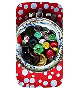ASSORTED BUTTONS IN A BOWL 3D Hard Polycarbonate Designer Back Case Cover for Samsung Galaxy Grand Neo Plus :: Samsung Galaxy Grand Neo Plus i9060i