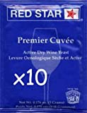 Premier Cuvee (10 Packs) Wine Yeast