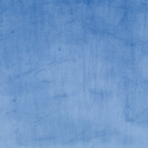 Denim Blue Minky Fabric Sold By The Yard front-263199