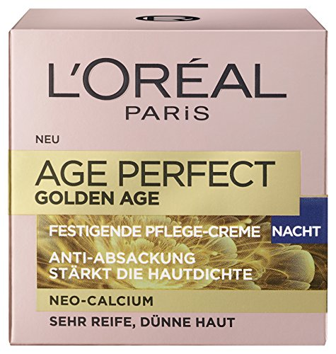 L'Oréal Paris Age Perfect Golden Nachtpflege, 1er Pack (1 x 0.05 l) thumbnail