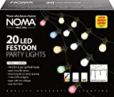 20x Multicoloured Festoon lights - E27 - indoor/outdoor - 82134M