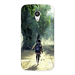 Special Back To Home Back Case Cover for Moto G 2nd Gen