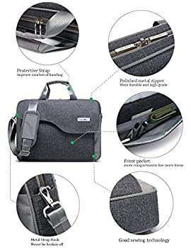 CoolBell(TM)15.6 Inch Nylon Laptop Bag Shoulder Bag With Strap Multicompartment Messenger Hand Bag Tablet Briefcase For iPad 2