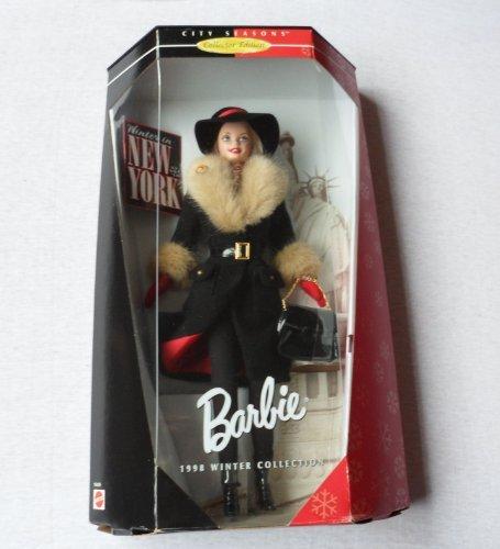 Mattel Winter In New York Barbie Collector Doll