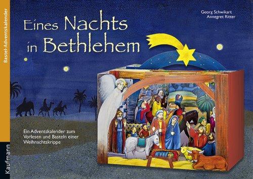 Eines Nachts in Bethlehem: Ein Adventskalender zum Vorlesen und Basteln einer Weihnachtskrippe, Buch