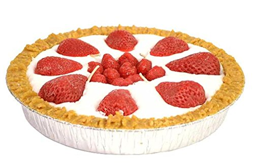 9 inch Strawberry Pie Candles (Pie Candle compare prices)