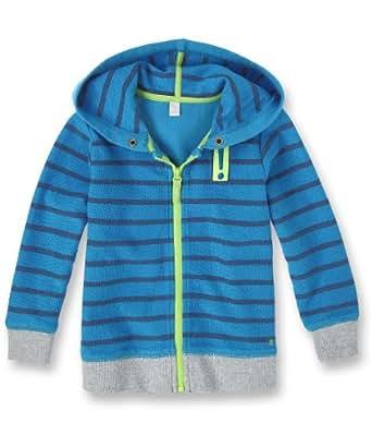 ESPRIT - Sweat-shirt à capuche - Garçon - Bleu - Strong Blue - FR : 7 ans (Taille Fabricant:116+) (Brand size: Manufacturer Size:116+)