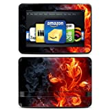 "Kindle Fire HD 8.9"" Skin Kit/Decal - Flower of Fire"