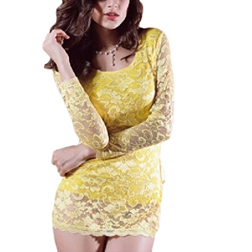 Womens Sexy Exotic Lingerie Lace Underwear Mini Dress Babydoll
