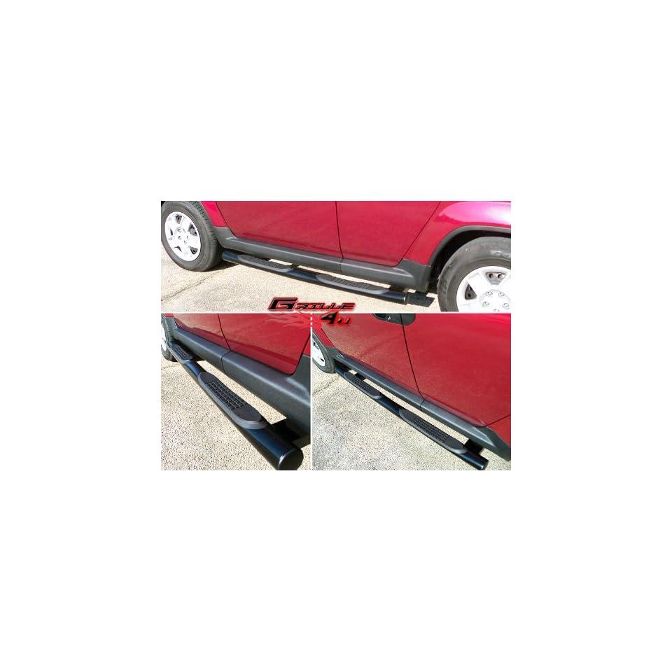 APS NB H3123B Black Coated Nerf Bar Bolt Over(Some for select Honda Element