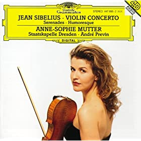 Jean Sibelius: Humoresque no.1 in D minor, op.87 no.1 - for violin and orchestra