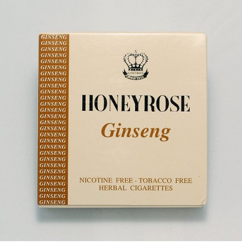 "Honeyrose ""Ginseng"" Tobacco Free Nicotine Free Herbal Cigarettes"