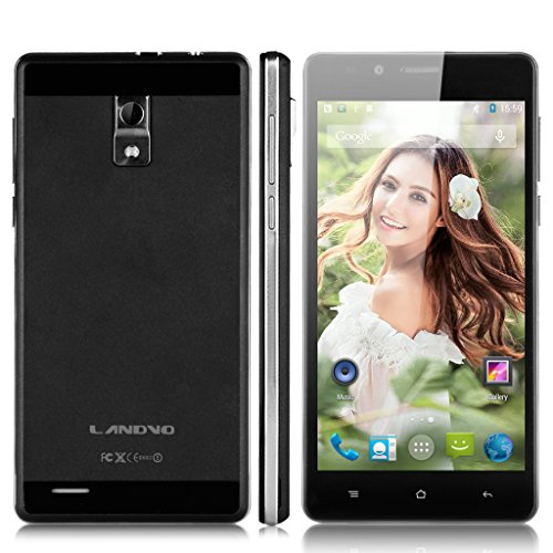 LANDVO V80 IPS schermo HD 3G Smartphone 5 '' Android 5.1 MT6580 1,3 GHz quad-core 1G RAM 8G ROM GPS WIFI