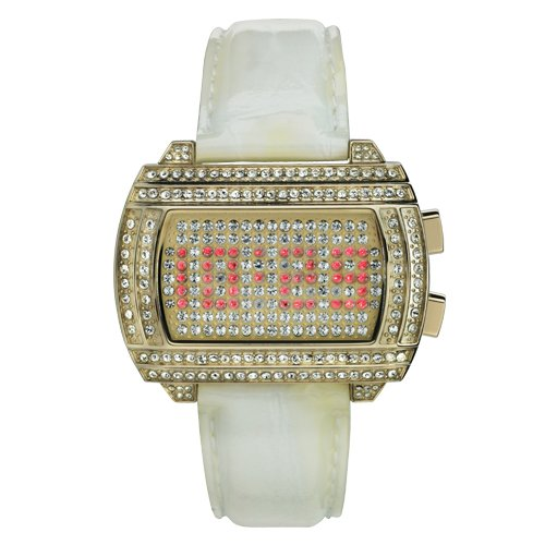 Storm Ankara Gold White Ladies Watch 4683/GD/W