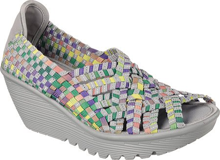 b05014458f2 Skechers Parallel Unbeweaveable Womens Wedge Sandals - Import It All