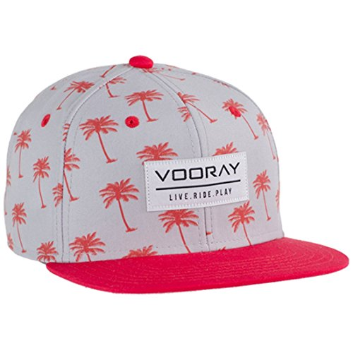 vooray-palmer-snapback-hat-cap-red