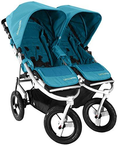 Bumbleride Indie Twin Jogging Double Stroller, Aquamarine - 1