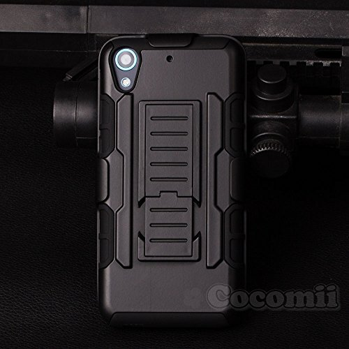 HTC Desire 626 / 626s Case, Cocomii® [HEAVY DUTY] Robot Case **NEW** [ULTRA FUTURE ARMOR] Premium Belt Clip Holster Kickstand Bumper [MILITARY DEFENDER] Full-body Rugged Dual Layer Cover (Black) ★★★★★