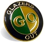 Manchester United Green & Gold Glazers Out Badge