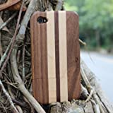 Matek: Superior Luxious Car Tyre Cool Bamboo Wooden Wood Hard Case Cover for iPhone 4 4S 4G ,269