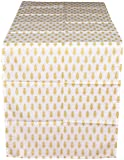 CPM Handlooms Cotton Table Runner - White