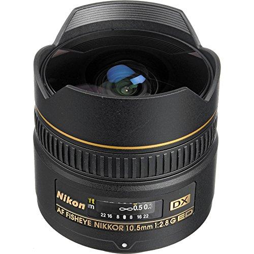 Details for Nikon 10.5mm f/2.8G ED DX AF Fisheye-Nikkor Lens with 3 Filters + Flash & 2 Diffusers + Kit for D3100, D3200, D3300, D5100, D5200, D5300, D7000, D7100 DSLR Cameras
