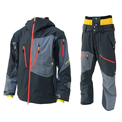 PHENIX(フェニックス)【PA572OT21/PA572OB21】ユニセックス スキーウェア マッシュ ジャケット パンツ 上下セットOB×OB L