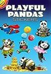 Playful Pandas Stickers