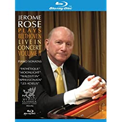 Jerome Rose Plays Beethoven Live in Concert 2 [Blu-ray]