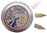 【BOOK DARTS】ブックダーツ ミックス(シルバー・ゴールド・ブロンズ)50個缶入り
