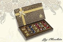 Joy Chocolates Best Seller Premium Assorted Flavours Chocolate Box - 21 PC
