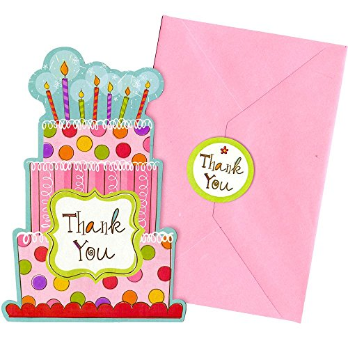 Sweet Stuff Thank You Notes - Party Supplies - 1
