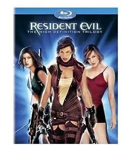 Resident Evil / Resident Evil: Apocalypse / Resident Evil: Extinction [Blu-ray]