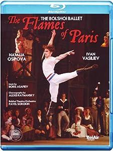 Les Flammes De Paris (Osipova/Savin/Vasiliev/Bolshoi Ballet) [Blu-ray] [2010]