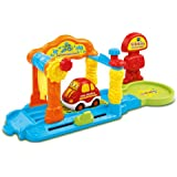 Vtech - 152605 - Véhicule Miniature - Garage - Tut Tut Bolides - Lav-auto Interactif + Capucine Jolie Citadine