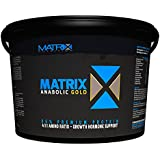Matrix Anabolic Gold 2.25KG takes protein powders to the next level, combining a powerful 86% protein purity, 4:1:1 Leucine dominant Amino Acid ratio. (Chocolate)