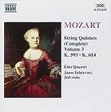Mozart - String Quintets, Vol. 3