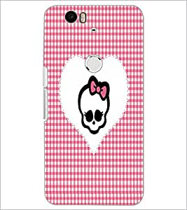 PrintDhaba Heart D-3529 Back Case Cover for HUAWEI NEXUS 6P (Multi-Coloured)