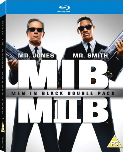 Men in Black Double Pack Blu-ray Boxset (Men In Black / Men in Black II))