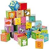 Janod - J02993 - Kubkid - 32 Cubes Alphabet - 24 mois Âge minimum